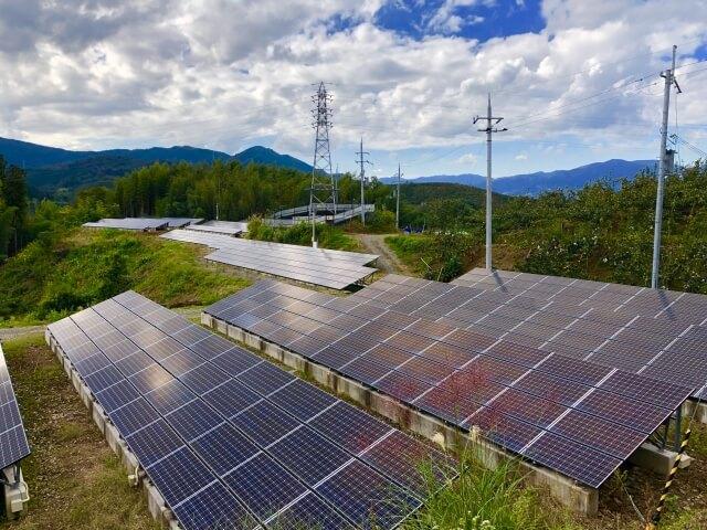 太陽光の発電量