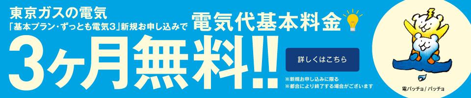 東京ガスキャンペーン