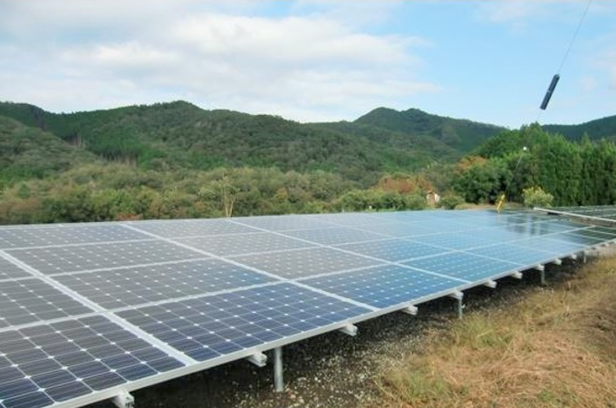 稼働済み太陽光発電所物件短期売却事例